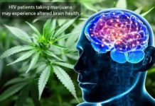 HIV patients taking marijuana may-experience altered brain health