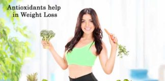 antioxidants help in weight loss