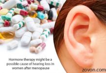 Hormone therapy might be a possible cause of hearing loss in wom