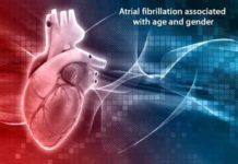 atrial fibrillation associated with age and gender