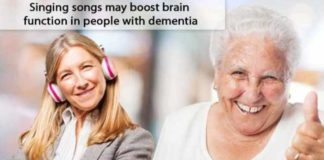 singing songs may boost brain function in people with dementia