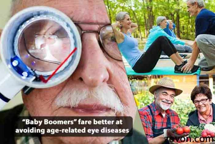 baby boomers far better at avoiding age related eye diseases