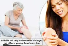 arthritis not only a disease of old age but affects young americans too