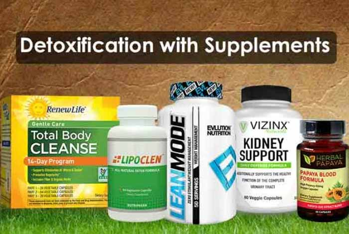 best supplements for detoxification and cleansing liver kidney