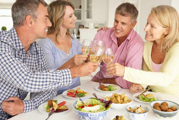 eat healthy now to stay fit in old age