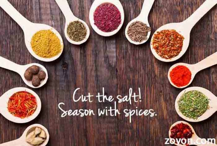 go for spicy to avoid salt