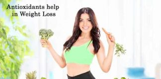how do antioxidants help in weight loss