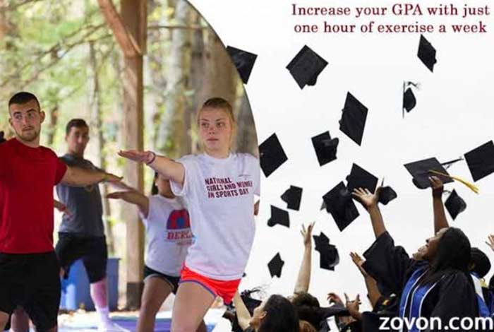 increase your gpa with just one hour of exercise a week