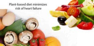 plant based diet minimizes risk of heart failure