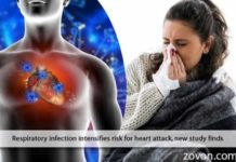 respiratory infection intensifies risk of heart attack new study finds