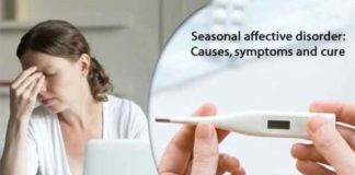 seasonal affective disorder causes symptoms and cure