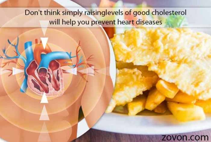 simply raising levels of good cholesterol wont help you prevent heart diseases
