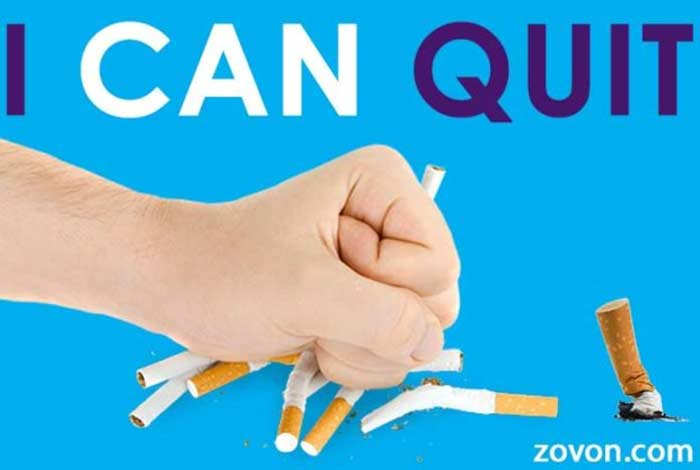 strong commitment is necessary to quit smoking as part of online quit smoking group