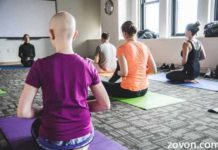 yoga can improve health conditions in lung cancer patients and caregivers