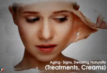 Anti Aging-Signs Creams and Natural Treatment
