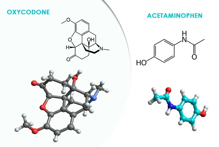 oxycodone and acetaminophen