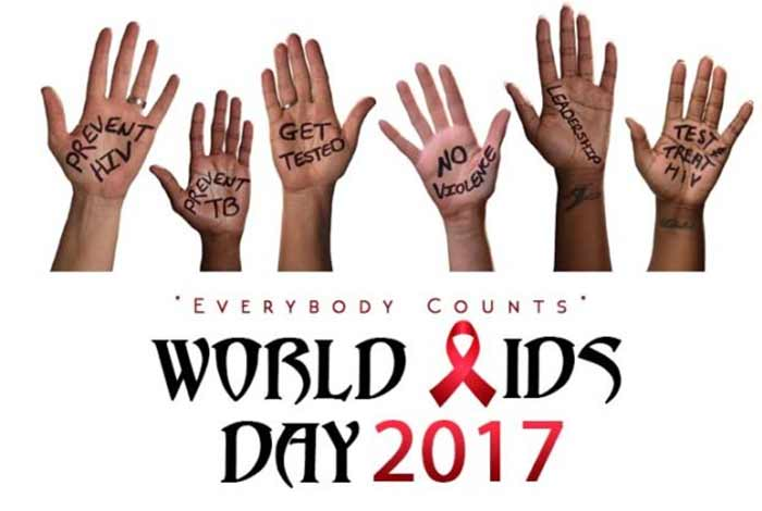 everybody counts world aids day
