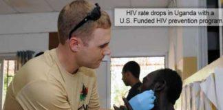 HIV rate drops in uganda