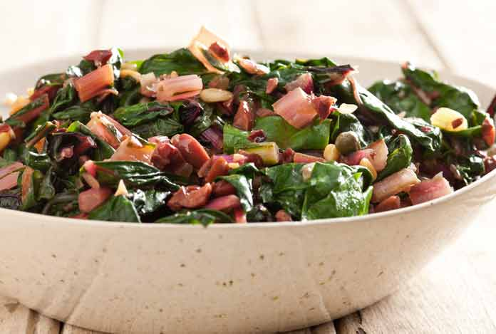Healthy and Tasty: Rainbow Chard Salad Recipe by Kimberly Snyder