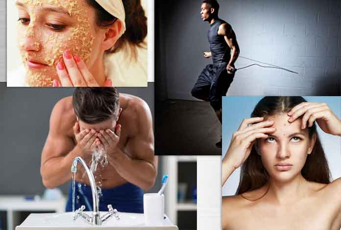 Skin care tips to prevent acne breakouts due to your workout regimen