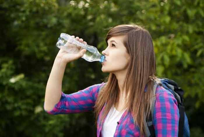 do you know your packaged water may contain plastic microparticles