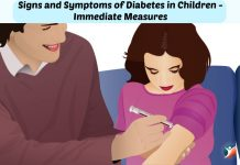 diabetes in children signs and symptoms