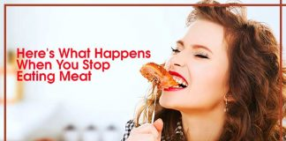 Here's What Happens When You Stop Eating Meat