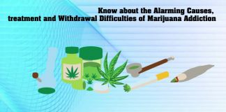 Know about the Alarming Causes, treatment and Withdrawal Difficulties of Marijuana Addiction