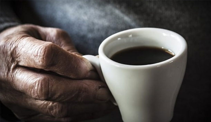 Drinking coffee can reduce Parkinson's tremors in some people